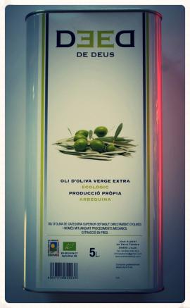 De Deus, oli, verge, extra, ecològic, aceite, virgen, extra, ecológico, les garrigues, lleida, catalunya,